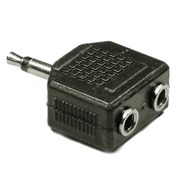 3.5MM Male to Double 3.5mm Male Audio Splitter Jack