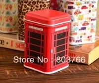10pcs/lot portable square storage box smart jars Mini tin jewelrybox sundries storage box random color shippment