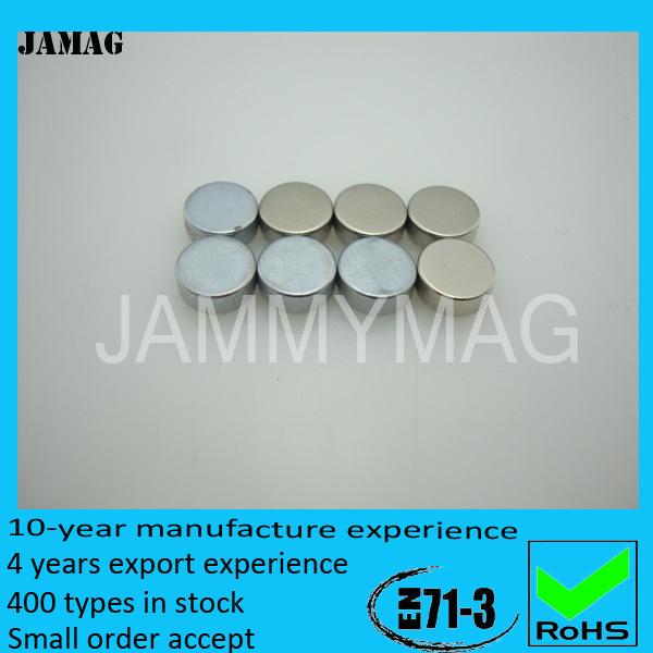 D14H4 ni coating 1000 pcs sintered disc ndfeb magnet(China (Mainland))