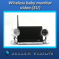nouveau 7'' camera sans fil baby moniteur 2x nuit Video vision