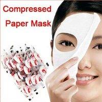 2013 Skin Face Care DIY Facial Paper Compress Masque Mask Free Shipping