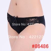 women cotton lace many color size sexy underwear/ladies panties/lingerie/bikini underwear pants/ thong/g-string 6486-3pcs