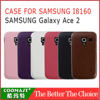 Free shipping 1PCS 100% Original PC Case For Samsung I8160 (Galaxy Ace 2)  New Arrivel mobile phone dirt-resistant case