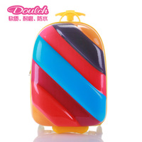 Child trolley luggage primary school students school bag burdens rod child luggage bag