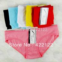 XXL  100% cotton many color big size sexy women underwear ladies panties underwear pants thong g-string 6465 6pcs