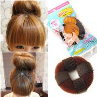 C Donuts band hair maker meatball head short hair tools