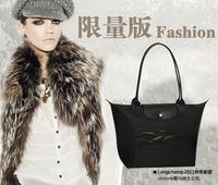 Free shipping Dawlish long-handled genuine leather the handle waterproof zipper buckle handbag dumplings bag folding