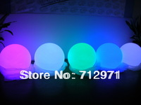 Dia50cm/19.69inch LED garden ball lamp/ Christmas decorative ball lamp 30cm rechargeablel RGB LED glowing sphere