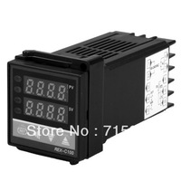Free shipping SSR Dual Digital Display F C PID Temperature Controller