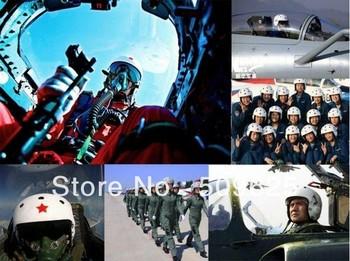 Red Star Tactical Pilot Motorcycle Motorcross Racing Crash Helmet Dual Visor New