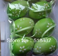 Plastic Easter eggs 4*6cm easter egg,easter gift Easter day hanging decoration gifts