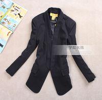 2013 women's outerwear OL outfit pads slim medium-long blazer suit