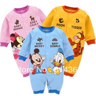 Best Selling!!Babys girls boys cartoon romper modeling rompers one piece jumpsuit bodysuit baby romper Free Shipping