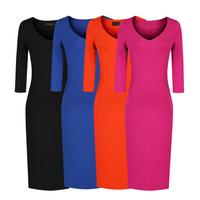 Spring fashion van basic slim all-match 7 slim hip plus size ol pencil skirt women's fashion one-piece dress
