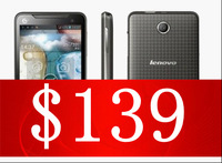 2013 HOT SALE free shipping Lenovo lenovo a798t dual-core 1.2g 4.5 screen 3g bag mobile phones