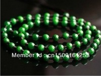 The green jade green jade Tielong students do Emerald Necklace accessories chain jade necklace rope