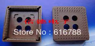 20pcs/lot 84P PLCC socket IC socket  straight pin ,free shipping