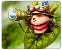 Anime Mouse Mat League of Legends Teemo Mouse Pad
