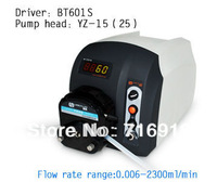 Big Sale for BT601S High  flow Precise variable speed peristaltic pump for water pumps fluid  / YZ15 Pump head