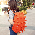Free shipping 2013 new arrival hot sale backpack female hedgehog preppy style bag canvas travel backpack bag student school bag