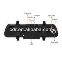 2013 new Double F8 super night vision lights car dashboard digital video recorder camera dvr