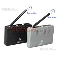 2.4GHz 4CH 100mw Wireless A/V Transmitter & Receiver