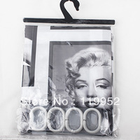 Marilyn Monroe flowers Shower curtain 180X180cm good quality 1pcs