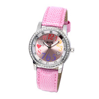 Women's quartz wrist fashion watch,waterproof watch,Zinc Alloy watch,free shipping watch,4114L-PK
