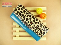 Free shipping 2013 New Style Fashion Leopard Women Wallet long design Purse hot sale