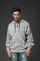 2013 hot sales fashing plus size  men Hoodie/ round collar nutty hooded jacket free shipping