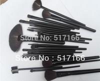 New Arrival !24 PCS Cosmetic Makeup Tools Facial Makeup Brush Set + Black Pouch Case Wholesale