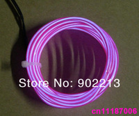 2.3mm purple light Flexible el wire Neon Lighting cable
