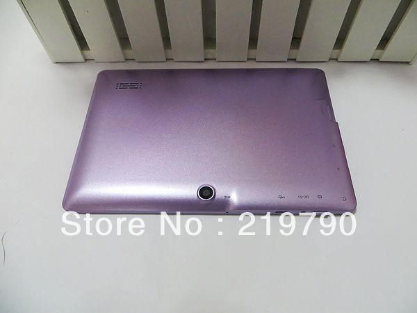 Tablet PC Q88 7 &#39;&#39; 8GB dual Cameras best quality Wifi 20pcs/lot Free Shipping in stock(China (Mainland))