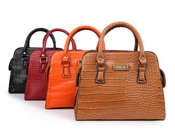 2013 newest style Free Shipping Vintage Office Lady design brand bags Women Handbag Fashion Tote Crocodile&Snake PU leather bags(China (Mainland))