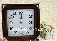 Square plastic wall clock digital plastic clocks manufacturers selling export foreign trade plastic wall clock