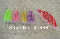 doll accessories, mini umbrella, doll umbrella, toy's umbrella, 50pcs/lot