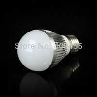 2 pcs/lot  E27 AC85-265V 3W 5W 7W led bulbs lamp light warm white/white high power energy saving free shipping