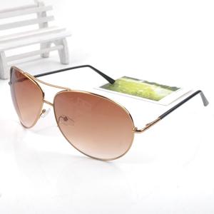 15$Mini Order Summer Men large metal sunglasses mirror anti-uv sunglasses sun glasses