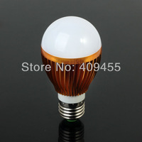 5 pcs/lot  E27 AC85-265V 3W 5W 7W led bulb lamp light white/warm white high power energy saving free shipping
