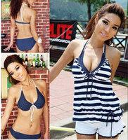 DYYY-0311 Wholesale 4pcs set Women Sexy Bikini Swimwear Swimsuit, women swimsuit free shipping,size M L XL