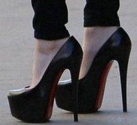 Free shiping CooLcept high heel shoes high heels fashion women sexy dress pumps AH077 size 35-40 factory price