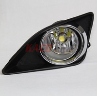 LED Fog Lights for 2008-2010 Toyota Corolla/Altis with Wires+Switch+Brackets+High Brightness 7W H11 LED Bulbs Free Shipping