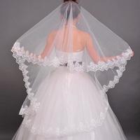 The bride hair accessory bridal veil meters veil 1.5 meters long veil lace decoration train veil