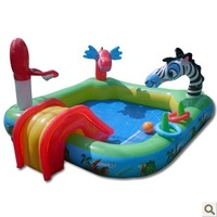 Multifunctional animal paddling pool large inflatable toys child swimming pool ball pool inflatable