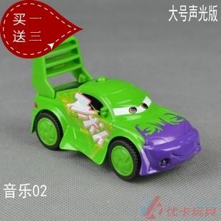Large acoustooptical WARRIOR 2 alloy toy car