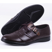 YEARCON  casual leather popular male leather shoes breathable leather shoes