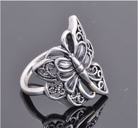 V1352 accessories fashion personality vintage butterfly ring finger ring female ring