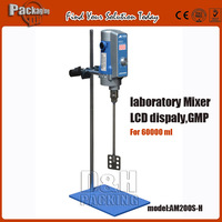 AM200S-H, Strong laboratory  mixer for 60000ml,LCD display,1800rpm