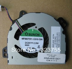 Free shipping , NEW CPU Cooling Fan for HP DM1 LAPTOP 636453-001(China (Mainland))