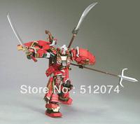 Free Shipping Gundoom/Gundam MG100  1/100 Scale Model Kit Assembly Shin Musha Gundam  Model Building Building Toy